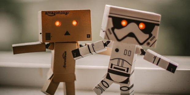 Foto Roboter Liebe