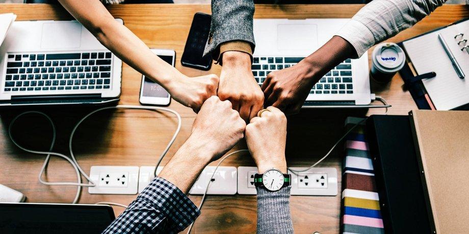 teaser Team digitale Arbeit agil pexels_com